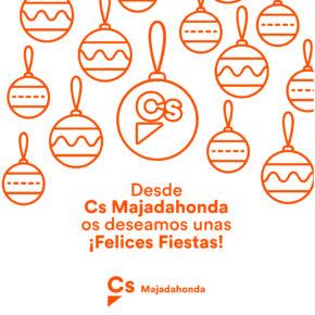 Ciudadanos Majadahonda desea unas felices fiestas y feliz 2018