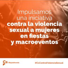 Ciudadanos (Cs) propone establecer un protocolo único para la atención de mujeres víctimas de violencia sexual en fiestas municipales