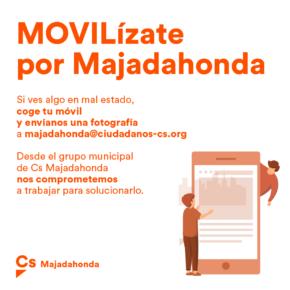 """Ciudadanos presenta la campaña """"MOVILízate por Majadahonda"""""""