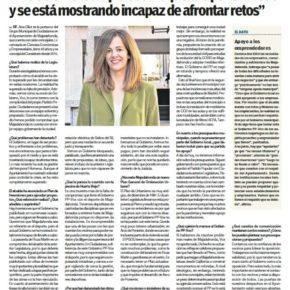 """""""EN PAPEL"""": Entrevista a Ana Elliott, portavoz del Grupo Municipal Ciudadanos"""