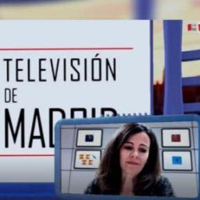 """Ana Elliott entrevistada en """"TELEVISIÓN DE MADRID (SOY DE)"""": """"Los autónomos son casi héroes"""""""